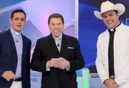 Em seu programa, Silvio Santos constrange padre com perguntas íntimas