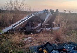 Aeronave de ex-senador cai em Luziânia (GO)