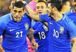 Brasil passa a Alemanha e recupera liderança do ranking da Fifa