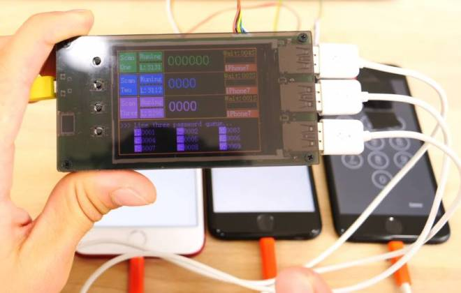 dispositivo destrava iphone - Pequeno dispositivo é capaz de desbloquear qualquer iPhone 7