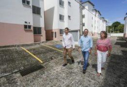 Luciano Cartaxo acompanha últimos detalhes das obras do Residencial Vieira Diniz D