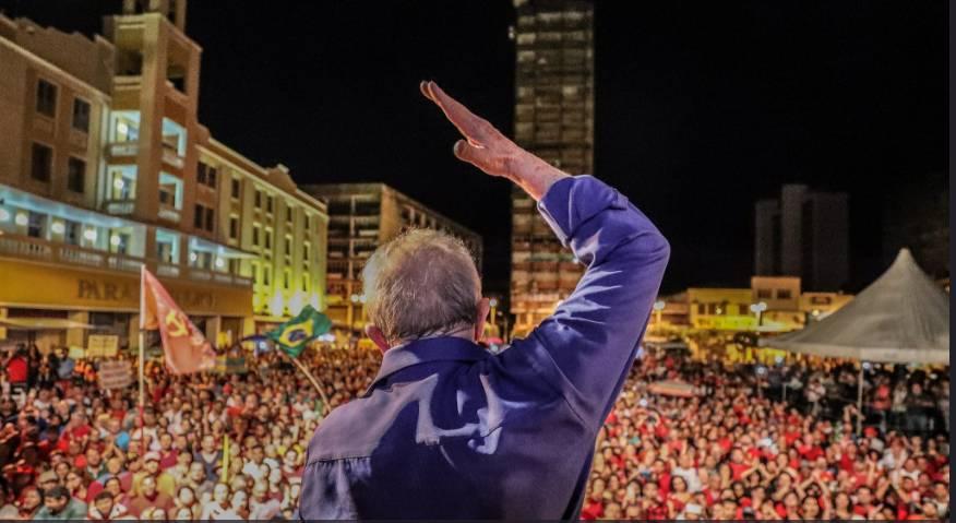 lula cem reis - NO PONTO CEM RÉIS: Lula fala que está pronto para o embate em 2018 e que 'eles vão ter trabalho'