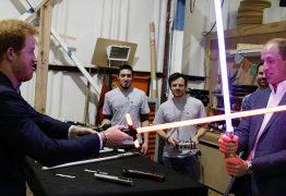 Príncipes William e Harry participaram de Star Wars: Os Últimos Jedi