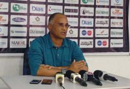 Treze apresenta novo treinador no Estádio Presidente Vargas