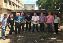 Wilson Filho visita local onde será nova sede da UEPB, 'Esse é um sonho antigo de toda a comunidade acadêmica'