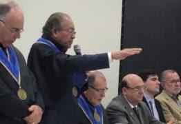 Mário Tourinho toma posse como presidente da Academia Paraibana de Ciência da Administração