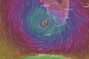 PRINTTT 300x198 - VEJA VÍDEO: Paraibana residente na Flórida mostra chegada do furacão