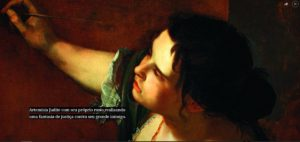 artemisia 4 300x142 - Pintora renascentista vingou-se de seu estuprador em quadro - VEJA GALERIA