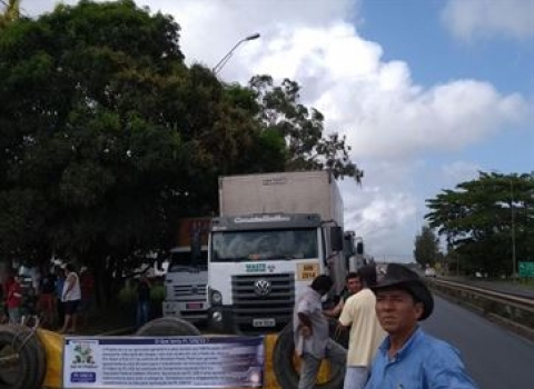 caminhoneiros - GREVE DOS CAMINHONEIROS: Protestos seguem nesta sexta-feira em João Pessoa
