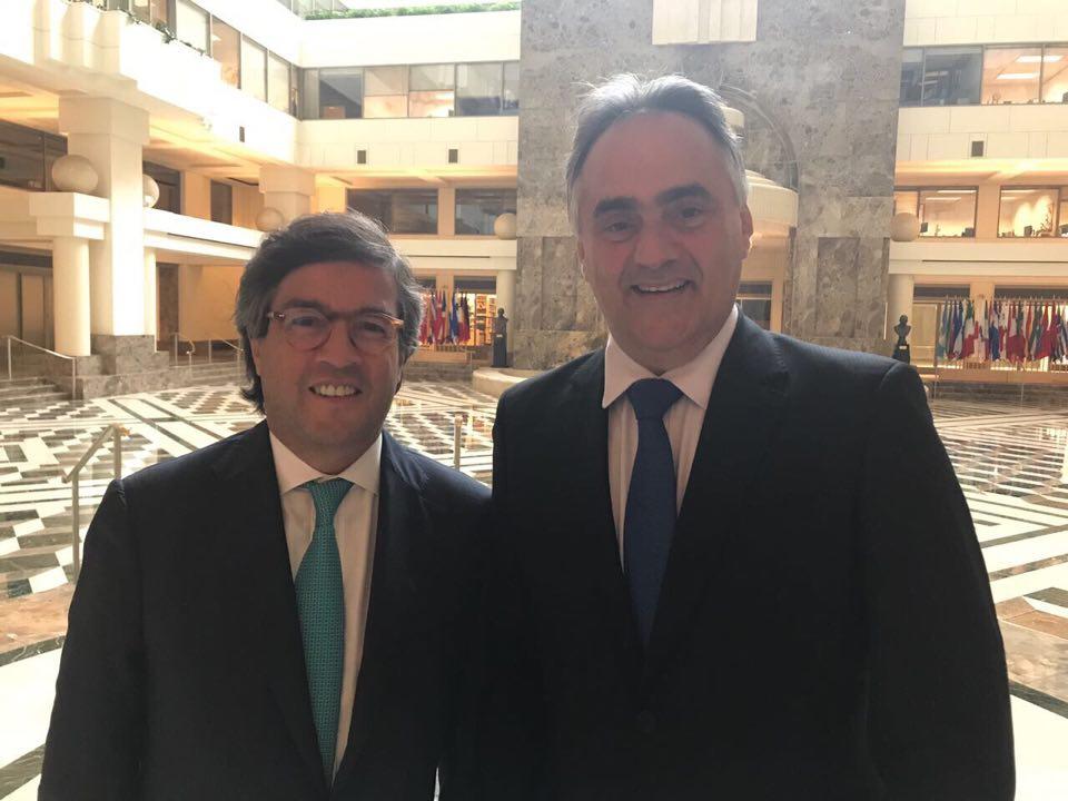 cartaxo bid - Cartaxo conclui nos EUA última etapa de preparação do contrato de U$ 100 milhões com o BID