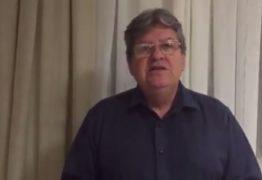 VEJA O VÍDEO: Secretário João Azevedo fala da surpresa com decisão de juiz federal sobre racionamento em CG