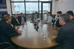 Vereadores se encontram com o procurador-geral de Justiça do MPPB