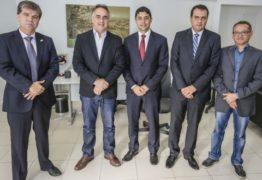 Cartaxo recebe visita institucional do ministro da Transparência