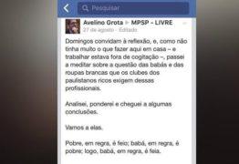 """'Negro em geral é catinguento, fede demais"""", diz promotor de Justiça de SP, fazendo """"convite à reflexão"""""""
