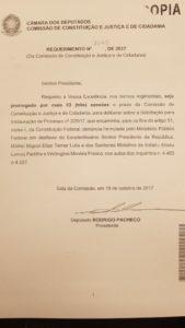 WhatsApp Image 2017 10 17 at 3.42.45 PM 169x300 - Presidente da CCJ pede mais três sessões para discutir denúncia contra Temer
