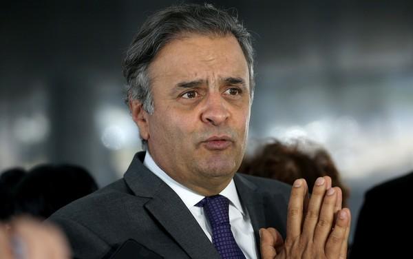 aecio neves 1 - PGR pede a Gilmar Mendes para prorrogar inquérito que investiga Aécio Neves