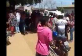 VEJA VÍDEO: Desespero de moradores ao saberem que segurança de creche ateou fogo em crianças