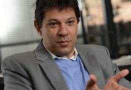 Fernando Haddad estará na Paraíba ainda neste mês de agosto