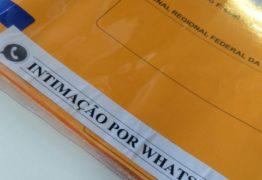 JUSTIÇA FEDERAL: Mais de 100 adesões às intimações por whatsapp foram registradas