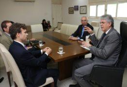 Ricardo Coutinho recebe visita do novo cônsul geral dos Estados Unidos
