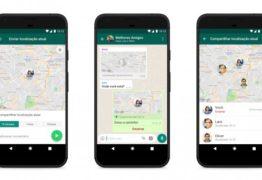 WhatsApp lança recurso que permite compartilhar localização em tempo real