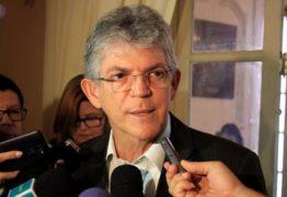 Ricardo Coutinho anuncia coletiva de imprensa para decidir futuro do Governo do Estado