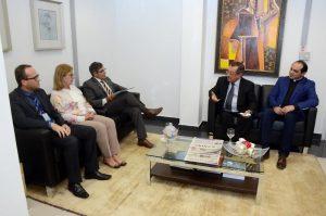 8956 - Maranhão se reúne com presidente do TJPB para discutir fim de comarcas