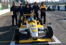 Piloto paraibano assume terceiro lugar na classificação da F3 Brasil