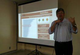 João Azevedo visita obras em cidades do Cariri e participa de palestra sobre educação