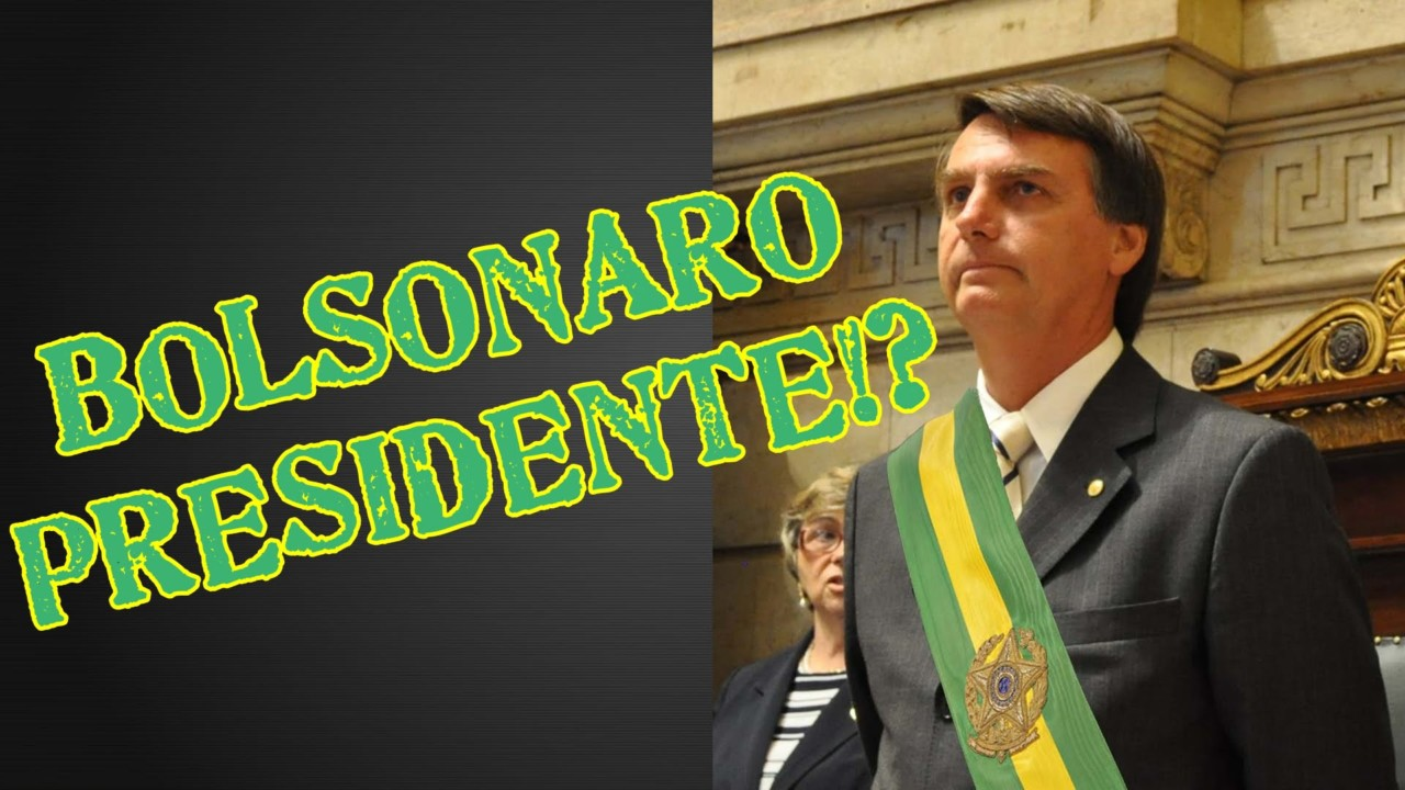 bolsonaro - BRASIL/2018: Bolsonaro 51, será a resposta do povo já no 1º turno - Por Rui Galdino