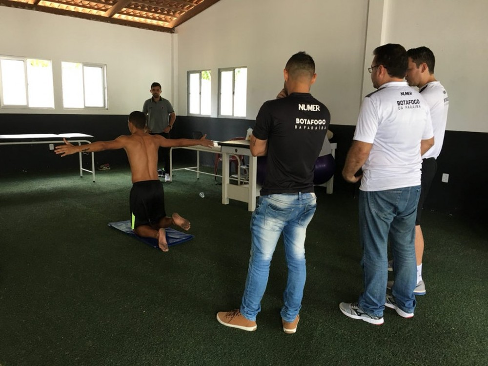 DE OLHO EM 2018  Botafogo-PB inicia avaliação física dos jogadores 3424ca780fa75