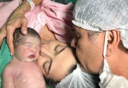 NASCEU VINÍCIUS: Senador Cássio publica foto do seu primeiro filho com nova esposa