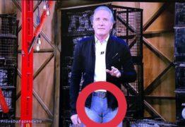 A FAZENDA: Roberto Justus usa calça justa e internautas não economizam na piada