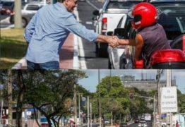 NINJA NA REDE – Luciano Cartaxo inspeciona 2ª etapa da requalificação da Avenida Beira Rio