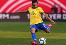 Marta é eleita melhor jogadora do mundo pela sexta vez