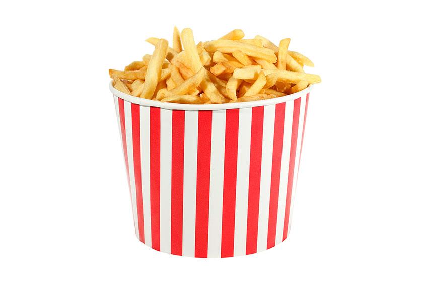 DA SÉRIE BLACK FRIDAY: Burger King oferece balde de batata fritas