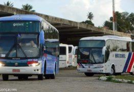 Covid-19: ônibus intermunicipais voltam a circular com 70% da capacidade