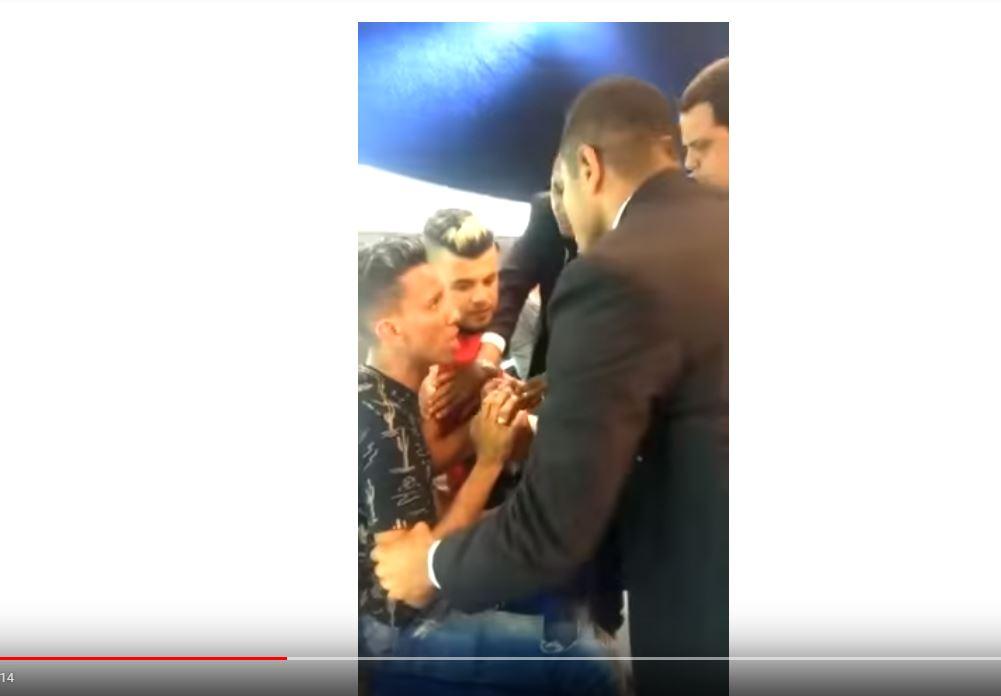 Gravação de especial natalino de Rodrigo Faro termina com agressões -VEJA VÍDEOS