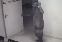 VEJA VÍDEO: Câmeras flagram ação de bandidos dentro de Policlínica em João Pessoa