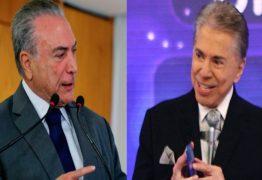 Temer participa do Programa Silvio Santos para defender reforma da Previdência