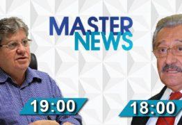 José Maranhão e João Azevedo são os convidados de Gutemberg Cardoso no 'Master News' especial de fim de ano