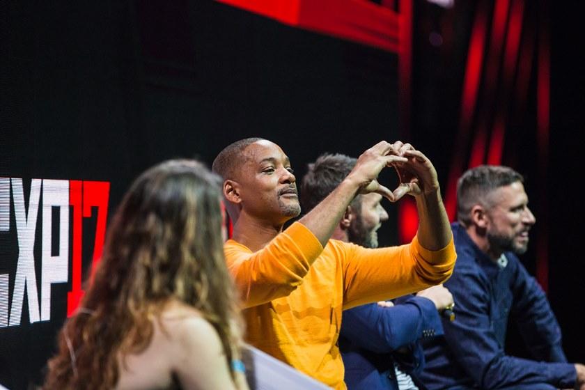 will smith - Will Smith rouba a cena e vira o protagonista do Comic Con São Paulo