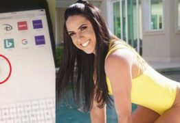 Graciele Lacerda mostra celular e deixa escapar na tela visitas a site pornô, Veja