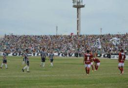 Treze vence o Clássico dos Maiorais com gol de Reinaldo Alagoano