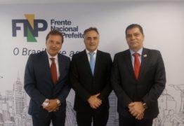 Luciano Cartaxo participa de reunião da Frente Nacional de Prefeitos, em Brasília