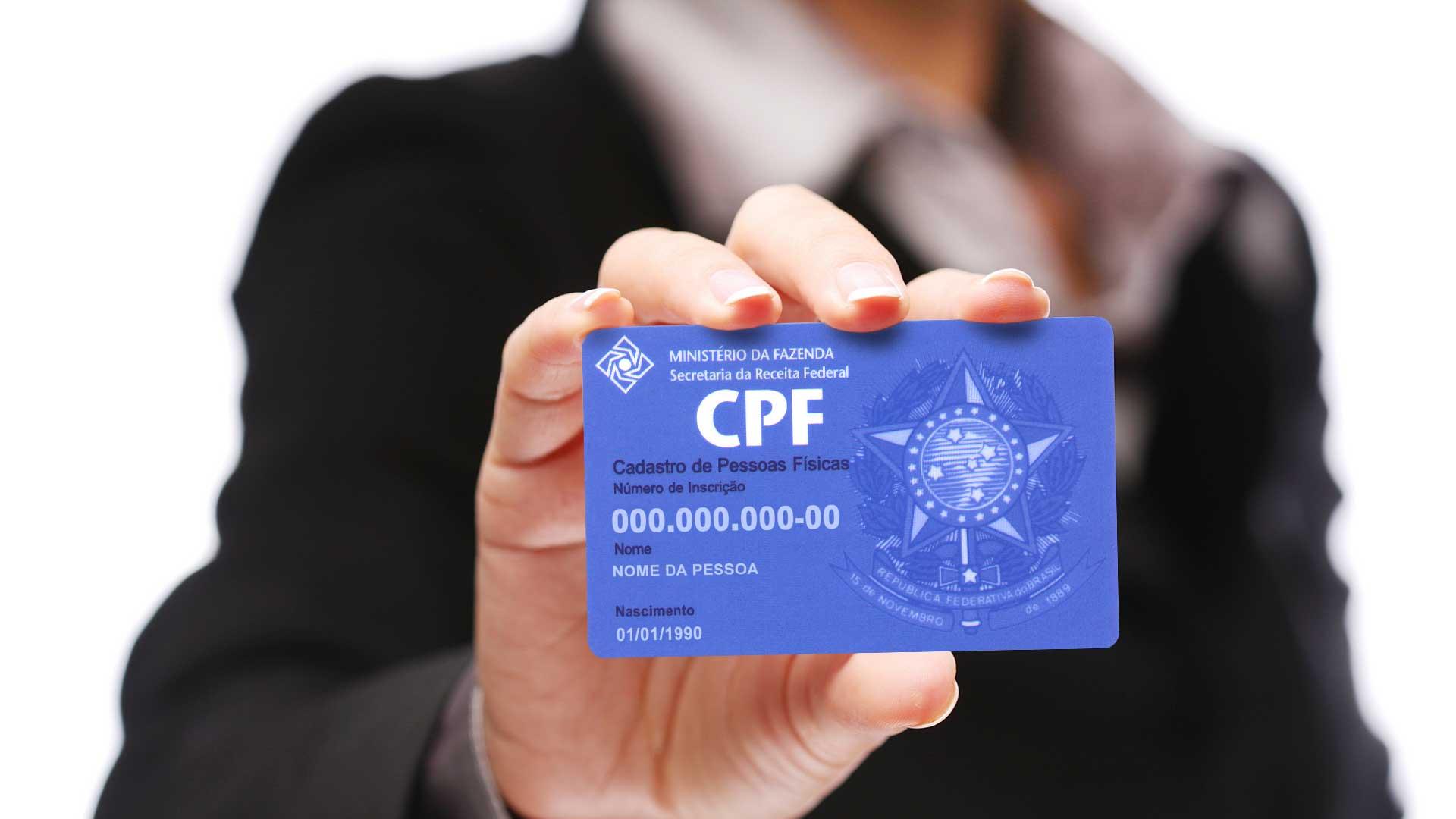 CPF - Lei que torna o CPF suficiente e substitui número de diversos documentos começa a valer hoje