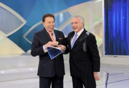 Silvio Santos recebe Michel Temer e ex-Panicats neste domingo (28)