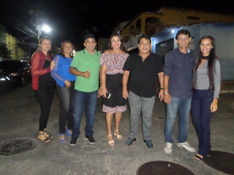 adriana e ricardo marcelo 2 - Ricardo Marcelo participa de evento no Vale do Mamanguape e espanta tese de substituição do seu nome na disputa pela ALPB