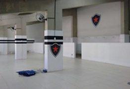 Segel nega ter concedido autorização para que o Botafogo-PB personalizasse vestiário do Almeidão