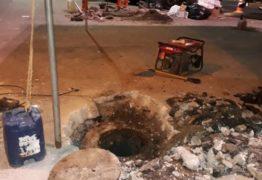 Cagepa acusa PMJP de causar transbordamento do esgoto na Lagoa